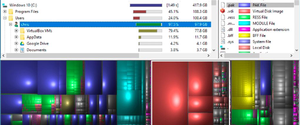 Disk Usage Tool: WinDirStat