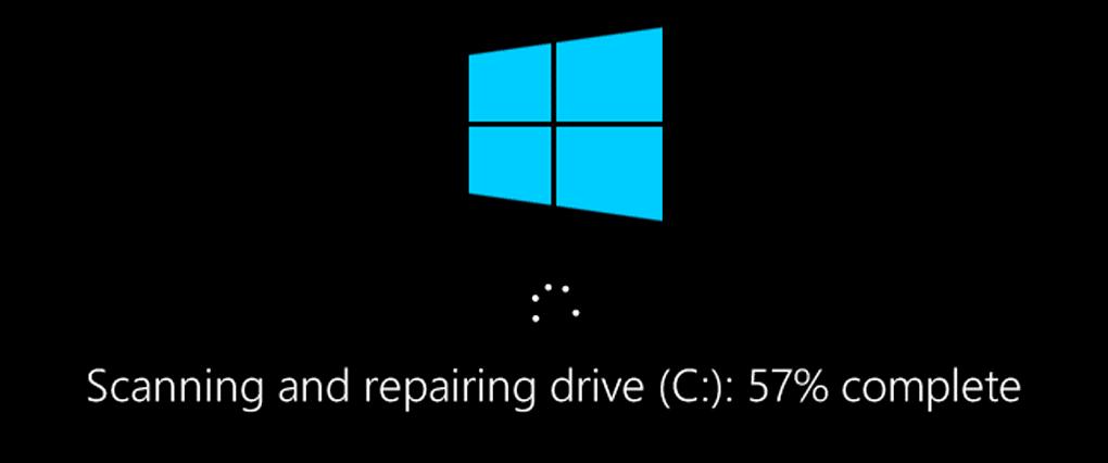 Repair hard disk with chkdsk